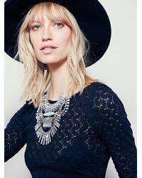 Free People | Metallic Womens Hazel Rays Collar | Lyst
