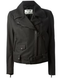 Acne Studios | Brown 'Mape Scuba' Jacket | Lyst