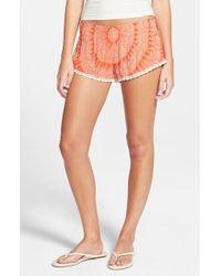 Rip Curl - Orange 'sundial' Shorts - Lyst
