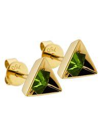 Ruifier | Green 'stella' Tsavorite Earrings | Lyst