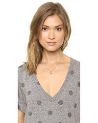 Ela Rae - Green Pheobe Hamsa Necklace Turquoise - Lyst