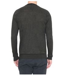 CoSTUME NATIONAL - Gray Wool Pull for Men - Lyst