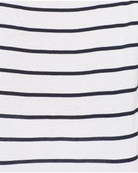 Zara | White Short Sleeve T-shirt | Lyst