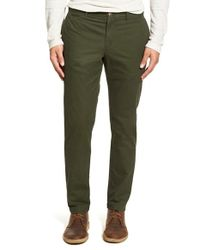 Original Penguin | Green 'p55' Slim Fit Chinos for Men | Lyst