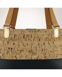 Ralph Lauren - Black Cork-effect Tote Bag - Lyst