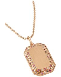 Carolina Bucci | Metallic Pink, Yellow & White-Gold Sparkly-Link Necklace | Lyst
