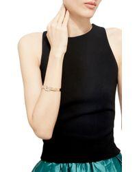 Sidney Garber - Metallic 18K Rose Gold Buckle Bracelet - Lyst