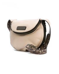 Marc By Marc Jacobs - Natural Mini 'new Q Zippers Natasha' Crossbody Bag - Lyst