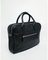 Ted Baker - Black Zipero Document Bag for Men - Lyst