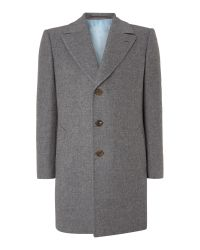 Chester Barrie | Gray Change Coat for Men | Lyst