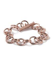 Ippolita | Pink Rose Glamazon Smooth Link Bracelet | Lyst