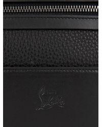 Christian Louboutin - Black Aliosha Leather Pouch for Men - Lyst