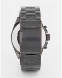 Fossil | Decker Watch In Black for Men | Lyst