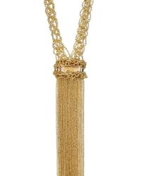 Rosantica By Michela Panero | Metallic Itaca Crochet Chain Pendant Necklace | Lyst