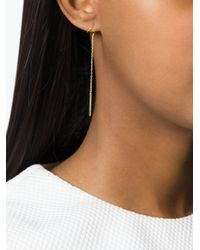Maria Black | Metallic 'serra Twirl' Earrings | Lyst