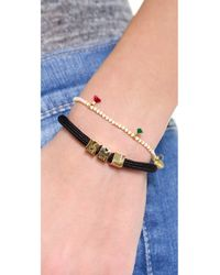 Marc By Marc Jacobs | Metallic Mmj Slider Bracelet | Lyst