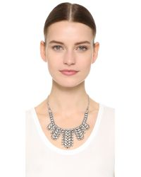 DANNIJO - Metallic Duchess Necklace - Lyst