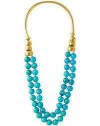 Aurelie Bidermann | Metallic 'lakotas' Necklace | Lyst