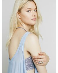Free People - Blue Free Swing Cami - Lyst