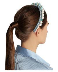 Masterpeace - Blue Elephant Acrylic And Pearl Headband - Lyst