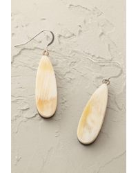 Anthropologie | Natural Saffron Drop Earrings | Lyst