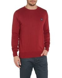 883 Police | Red Muraco Knitted Jumper for Men | Lyst
