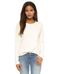 Bliss and Mischief - Natural Regina Sweatshirt - Lyst