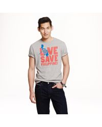 J.Crew - Gray For The Philippines T-shirt for Men - Lyst