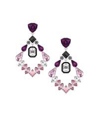 Swarovski | Metallic Impulse Pierced Earrings | Lyst