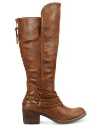 Rampage | Brown Viper Boots | Lyst