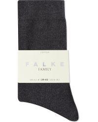 Falke | Gray Family Ankle Socks | Lyst