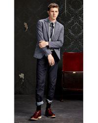 BOSS Orange | Gray Cotton Polo Shirt 'pilippo' for Men | Lyst