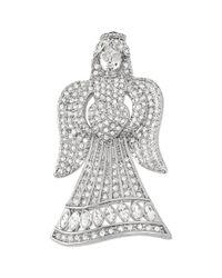 Carolee | Metallic Silvertone Angel Pin | Lyst