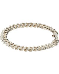 A.P.C. | Metallic Silver Jarvis Bracelet for Men | Lyst