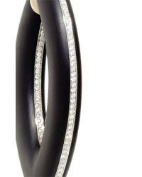 Vhernier - Black Doppio Senso Jet Diamond Earrings - Lyst
