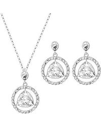 Swarovski | Metallic Backstage Round Set | Lyst
