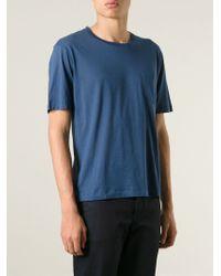 Dolce & Gabbana - Blue Pocket T-Shirt for Men - Lyst