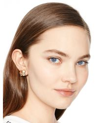 kate spade new york - Metallic Kate Spade Cluster Earrings - Lyst