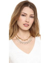 Juicy Couture - Metallic Haute Hue Gemstone Double Layer Necklace - Lyst