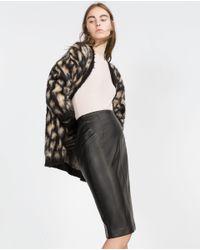 Zara | Black Tube Skirt | Lyst