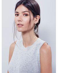 Free People | Metallic Womens Crossbow Dangle Earrings | Lyst
