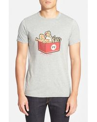 French Connection | Gray 'F Chicken Box' Graphic T-Shirt for Men | Lyst