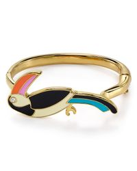 kate spade new york | Multicolor For The Birds Toucan Bangle | Lyst