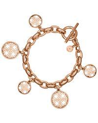 Michael Kors | Pink Mongoram Toggle Bracelet | Lyst
