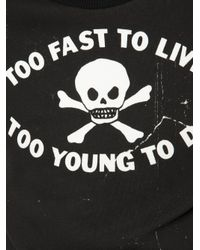 Vivienne Westwood Anglomania - Pink Too Fast To Live Sweatshirt for Men - Lyst