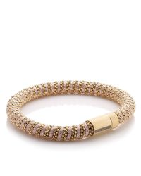 Carolina Bucci | Rose Gold/pink Twister Bracelet | Lyst