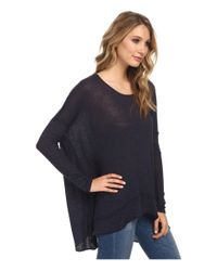 Free People - Blue Chasing You Shadow Hacci - Lyst