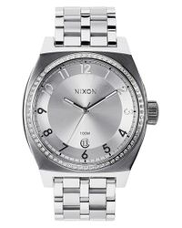 Nixon | Metallic 'the Monopoly' Watch | Lyst