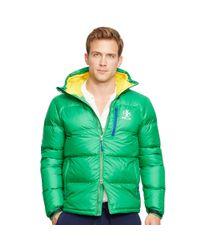 Ralph Lauren | Green Water-resistant Down Jacket for Men | Lyst
