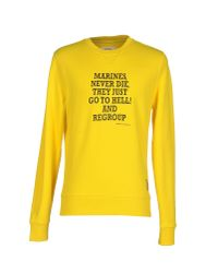 Dekker - Yellow Sweatshirt for Men - Lyst